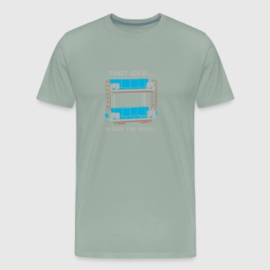 Double Decker Couch - Men's Premium T-Shirt