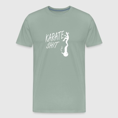 Karate Shit - Men's Premium T-Shirt
