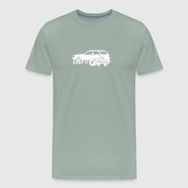 Keep it Classy Car - Men's Premium T-Shirt