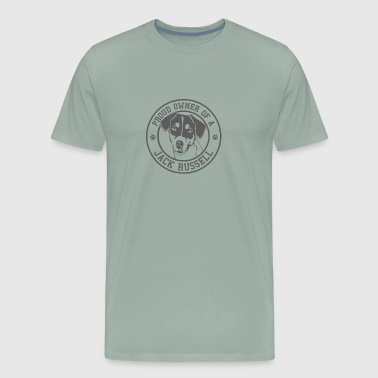PROUD OWNER OF JACK RUSSELL - Men's Premium T-Shirt