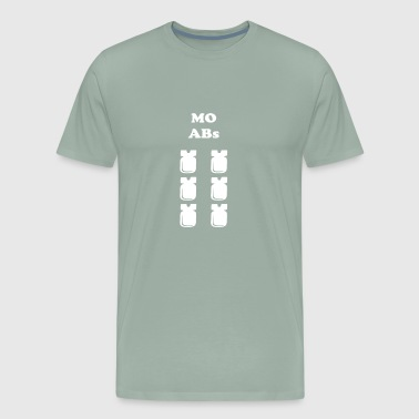 Mo Abs The Mother of All Six Packs T Shirt - Men's Premium T-Shirt