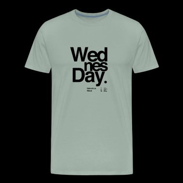 Wednesday typography - Men's Premium T-Shirt