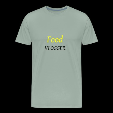 Food Vlogger - Men's Premium T-Shirt