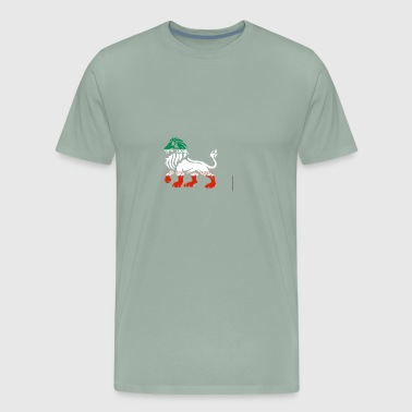 Iranian lion - Men's Premium T-Shirt
