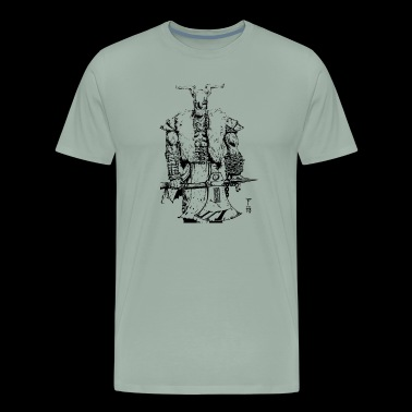 Viking warrior - Men's Premium T-Shirt