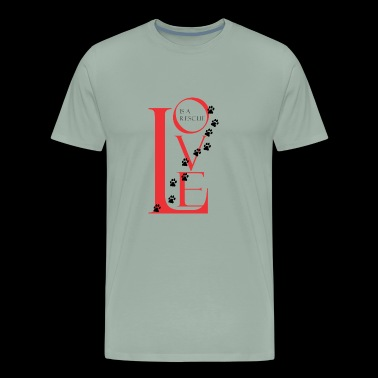 LOVE IS A RESCUE Apparel - Men's Premium T-Shirt