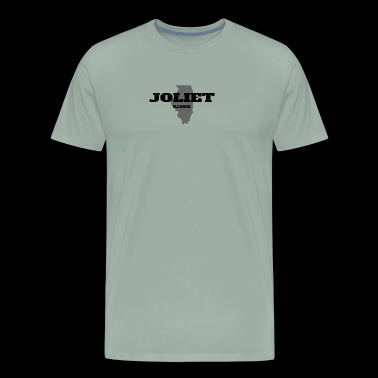 ILLINOIS JOLIET US STATE EDITION - Men's Premium T-Shirt