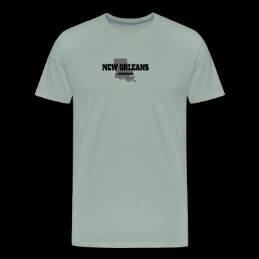LOUISIANA NEW ORLEANS US STATE EDITION - Men's Premium T-Shirt