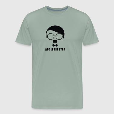 Adolf Hipster - Men's Premium T-Shirt