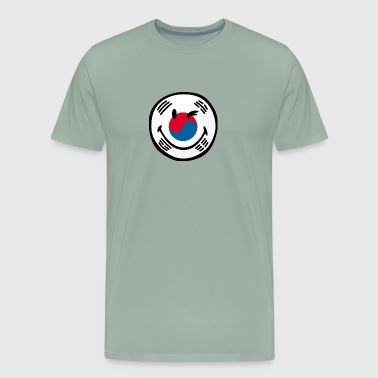 SmileyWorld South Korean Flag - Men's Premium T-Shirt