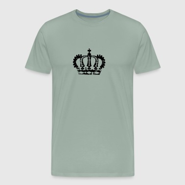 Distressed crown - Men's Premium T-Shirt
