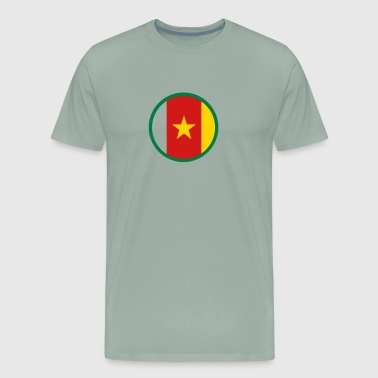 The Flag Of Cameroon - Men's Premium T-Shirt