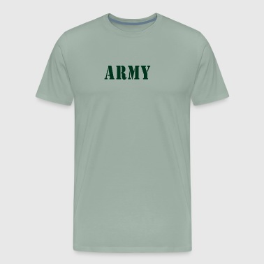 Baby Army Design. Funny - Men's Premium T-Shirt