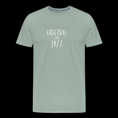 Original since 1977 - Born in 1977 - Men's Premium T-Shirt