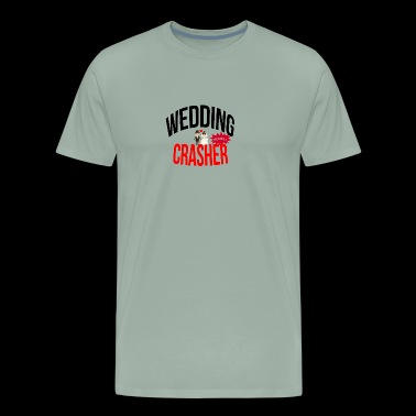 Wedding crasher - Men's Premium T-Shirt