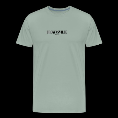TEXAS BROWNSVILLE US DESIGNER EDITION - Men's Premium T-Shirt