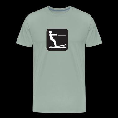 water ski - Men's Premium T-Shirt