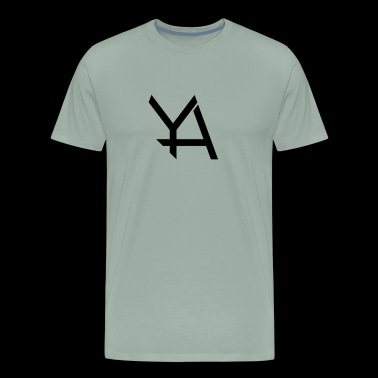 Young Adamant Black Logo - Men's Premium T-Shirt
