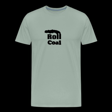 Roll Coal - FiringOrder - Men's Premium T-Shirt