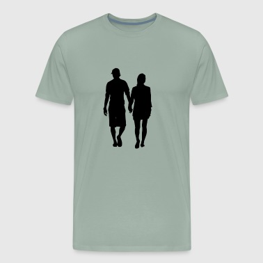our love will never end - Men's Premium T-Shirt