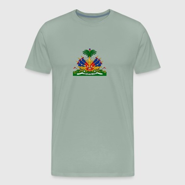 National Coat Of Arms Of Haiti - Men's Premium T-Shirt
