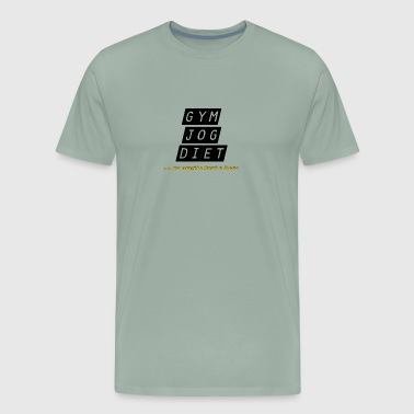 jog beer - Men's Premium T-Shirt