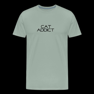 Cat Addict - Men's Premium T-Shirt