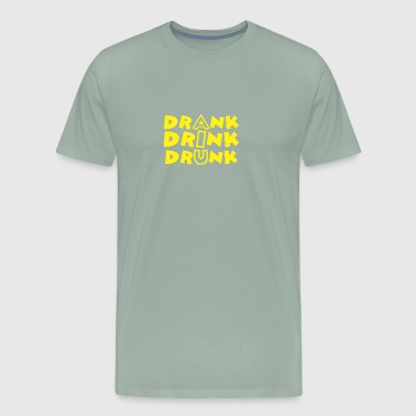 Drank Drink Drunk 3 - Men's Premium T-Shirt