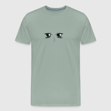 eyes black - Men's Premium T-Shirt