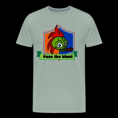 Pass the Blunt - Men's Premium T-Shirt