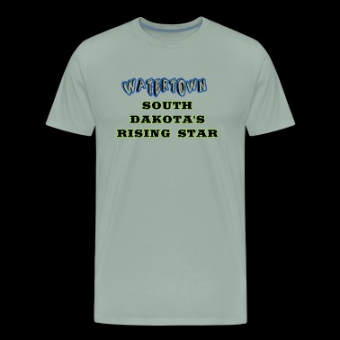Watertown South Dakota's Rising Star Coffee mugs - Men's Premium T-Shirt