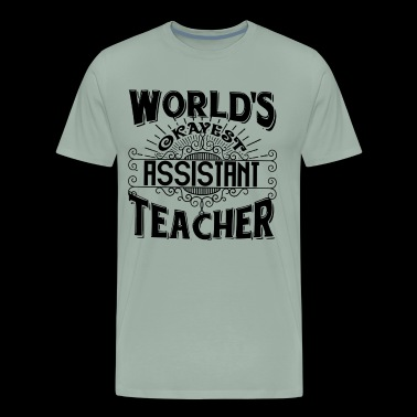 Assistant Teacher Funny Shirt - Men's Premium T-Shirt