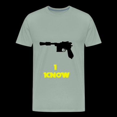 I know Han Quote - Men's Premium T-Shirt