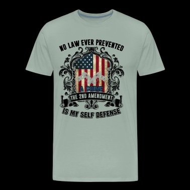 Gun Owners Is My Self Defense Shirt - Men's Premium T-Shirt