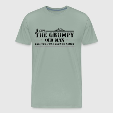 Grumpy Old Man Shirt - Men's Premium T-Shirt