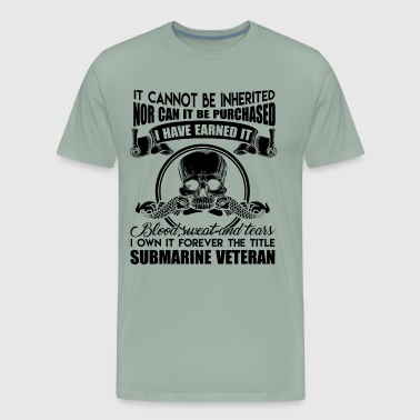 Submarine Veteran Forever Title Shirt - Men's Premium T-Shirt