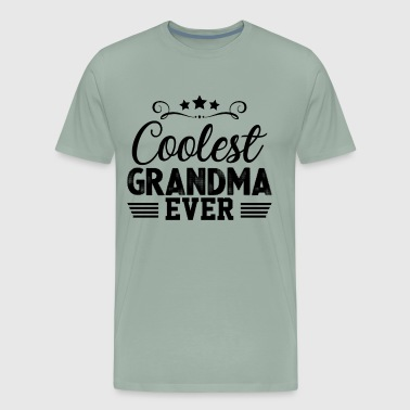 Coolest Grandma Ever Shirt - Men's Premium T-Shirt
