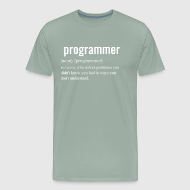 Programmer DEFINITION - Men's Premium T-Shirt