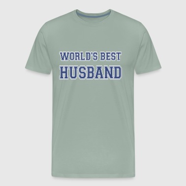 World's Best Husband Athletic - Men's Premium T-Shirt