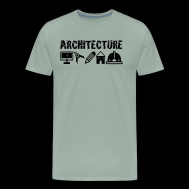Funny Architecture Shirt - Men's Premium T-Shirt