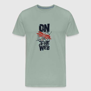 on the web - Men's Premium T-Shirt