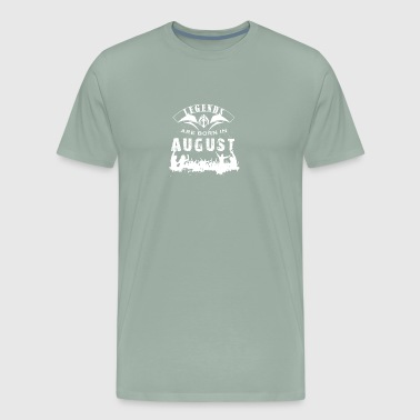 Birthdays in August Month - Men's Premium T-Shirt