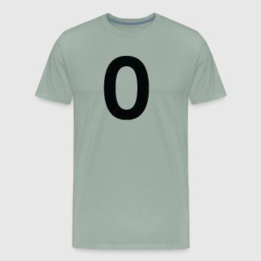 Sport Number 0 Zero - Men's Premium T-Shirt