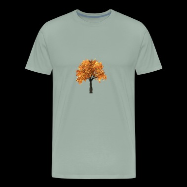 Tree Fall Summer Nature Forest - Men's Premium T-Shirt