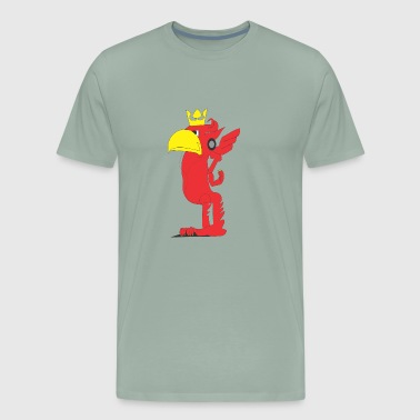 Robo Bird Music - Men's Premium T-Shirt