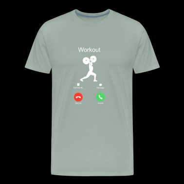 call crossfit workout of the day WOD sports - Men's Premium T-Shirt