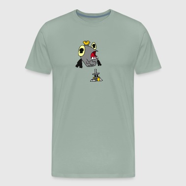 Crossover Shuff as a Bread Zombie - Men's Premium T-Shirt
