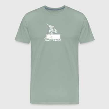 Man Tasking - Men's Premium T-Shirt