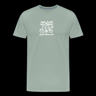 Rusty Motorcycles - Men's Premium T-Shirt