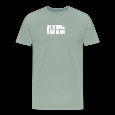WHITE VAN MAN - Men's Premium T-Shirt
